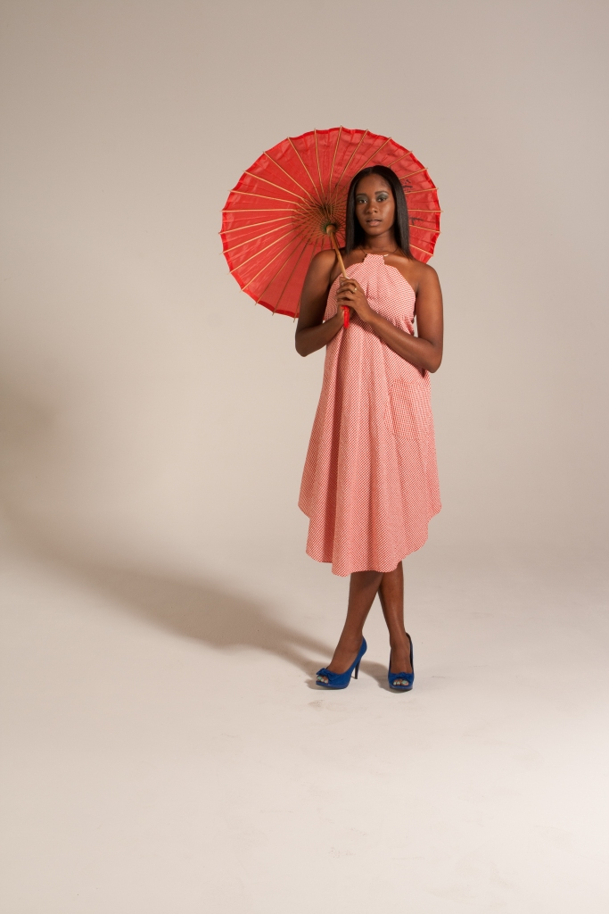 Tablecloth A-Line Dress